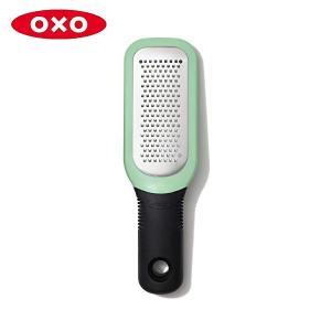 OXO ジンジャー&ガーリックグレーター グリーン 11273000 おろし器 オクソー CODE:5016671 n-kitchen