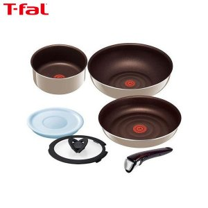 T-fal(ティファール) インジニオ・ネオ グレージュ・プレミア セット 6 L63291|n-kitchen