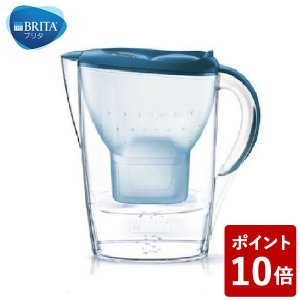 BRITA(ブリタ) 浄水 ポット マレーラ Cool ベーシックブルー|n-kitchen