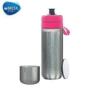 BRITA(ブリタ) フィル&ゴー アクティブ カートリッジ2個付き (ピンク)|n-kitchen