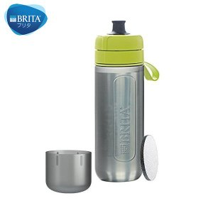 BRITA(ブリタ) フィル&ゴー アクティブ カートリッジ2個付き (ライム)|n-kitchen