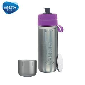BRITA(ブリタ) フィル&ゴー アクティブ カートリッジ2個付き (パープル)|n-kitchen