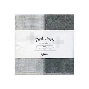 蚊帳の夢 備長炭色合わせふきん 生成 丸山繊維産業 n-kitchen