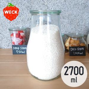 WECK チューリップ シェイプ 2700mL ウェック WE-739|n-kitchen