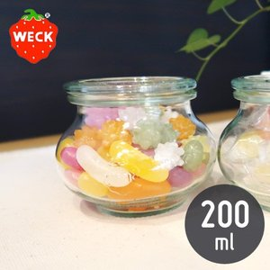 WECK デコ 200mL ウェック WE-902 DECO SHAPE|n-kitchen