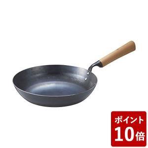 新 九十九 打出し フライパン24cm アドバンスドア 山田工業所 CODE:298786 職人 匠 つくも ツクモ|n-kitchen