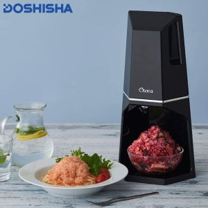 とろ雪Wふわふわ電動かき氷器 DTH-19 ドウシシャ n-kitchen
