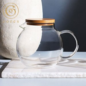 コレス クリアガラスサーバー 4カップ C514 cores コーヒーサーバー|n-kitchen