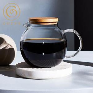 コレス クリアガラスサーバー 6カップ C516 cores コーヒーサーバー|n-kitchen