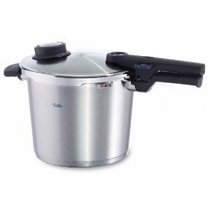 フィスラー コンフォート プラス 圧力鍋 6L (蒸し器 三脚付き) 91-06-00-511 Fissler|n-kitchen