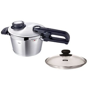 フィスラー Fissler 圧力鍋 プレミアム プラス 2.5L ガラスフタ付き 92-02-11-511|n-kitchen