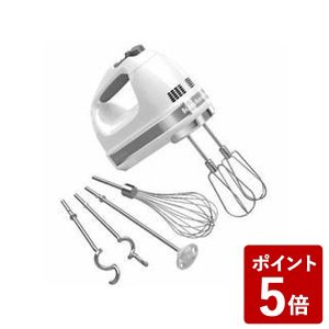 キッチンエイド ハンドミキサー 9段階変速 ホワイト 9KHM928WH KitchenAid|n-kitchen