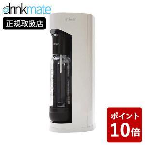 drinkmate マグナムグランド スターターセット ホワイト ドリンクメイト 水以外にジュースなどもOK 白 DRM1005|n-kitchen