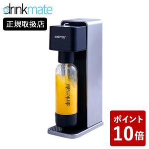 drinkmate 炭酸水メーカー Series 620 オートマチックタイプ ブラック DRM1011 スターターセット ドリンクメイト 黒 自動 n-kitchen