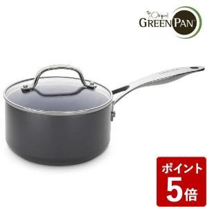 【ポイント10倍&送料無料】グリーンパン ヴェニスプロ ソースパン 18cm 蓋付き CC000654-001|n-kitchen