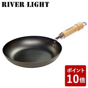 リバーライト 鉄 フライパン 22cm 極 ジャパン J1222 IH対応 日本製 RIVER LIGHT 極JAPAN キャンプ アウトドア 男子ごはん|n-kitchen