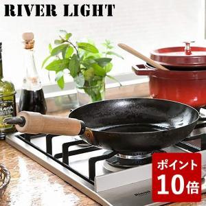 リバーライト 鉄 フライパン 26cm 極 ジャパン J1226 IH対応 日本製 RIVER LIGHT 極JAPAN キャンプ アウトドア 男子ごはん|n-kitchen