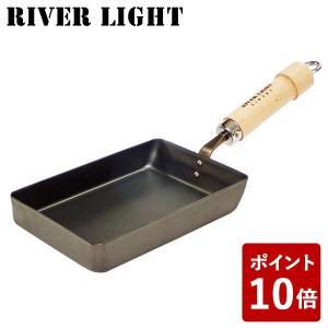 リバーライト 卵焼き 鉄 フライパン 小 極 ジャパン J1613 たまご焼 IH対応 日本製 RIVER LIGHT 極JAPAN キャンプ アウトドア|n-kitchen