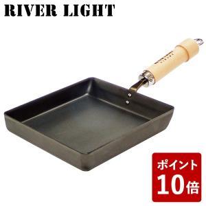リバーライト 卵焼き 鉄 フライパン 大 極 ジャパン J1618 たまご焼 IH対応 日本製 RI...