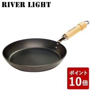 リバーライト 鉄 厚板フライパン 26cm 極 ジャパン J2326 IH対応 日本製 RIVER LIGHT 極JAPAN キャンプ アウトドア 男子ごはん|n-kitchen