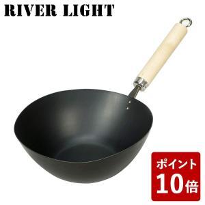リバーライト アジア鍋 鉄 鍋 たまご型 極 ジャパン J1930A 1.8L 日本製 RIVER ...