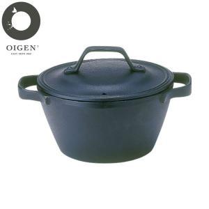 及源鋳造(OIGEN) クックトップ丸 深型(小) 鋳物鍋 CT-5|n-kitchen
