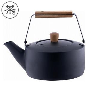 茶き くろいろケトル 小 1.5L 黒 IH対応 CHA-11 宮崎製作所|n-kitchen