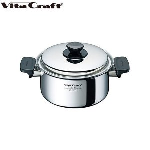 ビタクラフト ヘキサプライ 両手鍋 3.0L 6122|n-kitchen