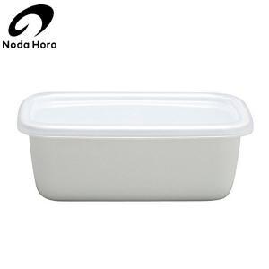 野田琺瑯 レクタングル 深型 S ホワイトシリーズ WRF-S|n-kitchen