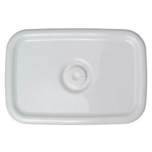 野田琺瑯 ホワイトシリーズ レクタングル深型L用 密閉蓋 WH MFF-L|n-kitchen
