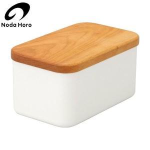 野田琺瑯 バターケース 450g用 BT-450|n-kitchen