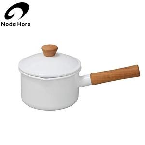 野田琺瑯 クルール ソースパン ホワイト 14cm CL-14NW|n-kitchen