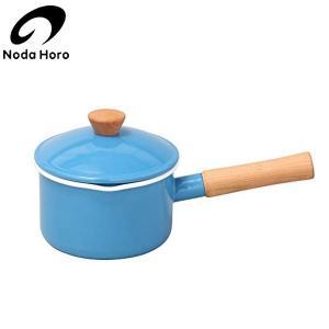 野田琺瑯 クルール ソースパン ブルー 14cm CL-14NBL|n-kitchen