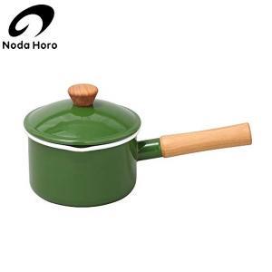 野田琺瑯 クルール ソースパン グリーン 14cm CL-14NGR|n-kitchen
