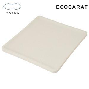 エコカラット トースト皿 ホワイト K686W マーナ|n-kitchen