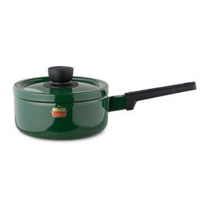 ソリッド ソースパン 18cm グリーン SD-18S-G 富士ホーロー|n-kitchen