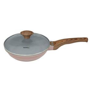 富士ホーロー ウェストファリア フライパン パンケーキパン IH対応 20cm ピンク WF-20PCP|n-kitchen