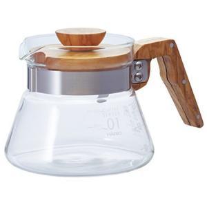 HARIO コーヒーサーバー400 オリーブウッド VCWN-40-O ハリオ|n-kitchen