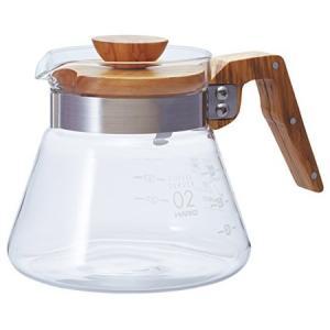 HARIO コーヒーサーバー600 オリーブウッド VCWN-60-O ハリオ|n-kitchen