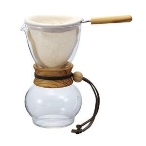 HARIO ドリップポット ウッドネック(オリーブ) 1-2杯 HARIODPW-1-OV ハリオ|n-kitchen