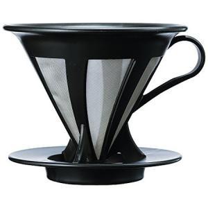 HARIO カフェオール ドリッパー02 1〜4杯用 ブラック CFOD-02B ハリオ|n-kitchen