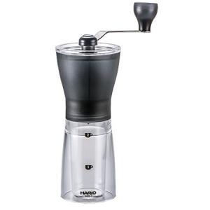 HARIO コーヒーミル・セラミックスリム スケルトン ブラック MSS-1TB ハリオ|n-kitchen