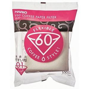 HARIO V60用ペーパーフィルター酸素漂白01 VCF-01-100W ハリオ