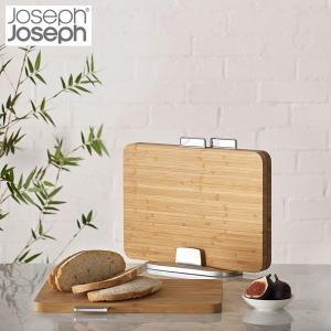 ジョセフジョセフ JosephJoseph インデックス付まな板バンブー 60141 n-kitchen