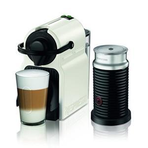 Nespresso (ネスプレッソ) コーヒーメーカー Inissia(イニッシア) バンドル ■C40WH−A3B ホワイト|n-kitchen