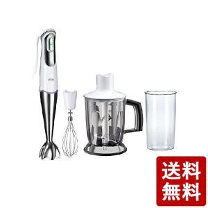ブラウン マルチクイック7 ハンドブレンダー ホワイト・シルバー デロンギ・ジャパン CODE:245893 BRAUN 白 n-kitchen