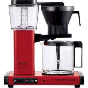 モカマスター ドリップ コーヒーメーカー レッド MM741AO-RD コントラスト|n-kitchen