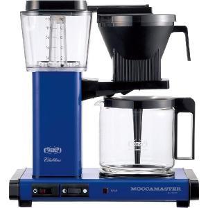 モカマスター ドリップ コーヒーメーカー ロイヤルブルー MM741AO-RB コントラスト|n-kitchen