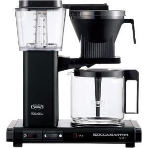 モカマスター ドリップ コーヒーメーカー マットブラック MM741AO-MB コントラスト|n-kitchen