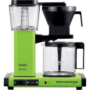 モカマスター ドリップ コーヒーメーカー フレッシュグリーン MM741AO-FG コントラスト|n-kitchen